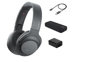 Sony WH-H900N h.ear on 2 Bluetooth Wireless Noise Canceling Headphones + BUNDLE