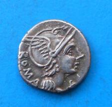Flaminia - Lucius Flaminius Chilo (-109 / -108) , denier (b)