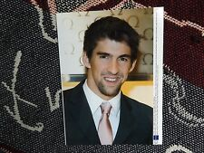 """8"""" x 6"""" SWIMMING PRESS AGENCY PHOTO - MICHAEL PHELPS - 2009 OMEGA FLAGSHIP OPEN"""