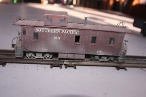 Scratchbuilt O Gauge Southern Pacific Caboose #313