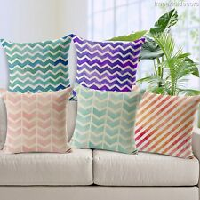Unbranded Art Striped Decorative Cushions & Pillows