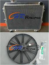 Aluminum Radiator &FAN for Toyota 4 Runner HILUX VZN130 3.0L 3VZ-FE V6 Petrol