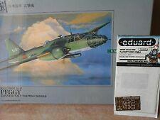 "MITSUBISHI KI47 ""PEGGY"" TORPEDO BOMBER 1/72 SCALE ARII MODEL JAPAN+PHOTOETCHED P"