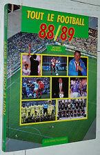 GUIDE ANNUEL TAILLANDIER FOOTBALL 1988-1989 OM ASSE BORDEAUX PSG AJA NICE NANTES