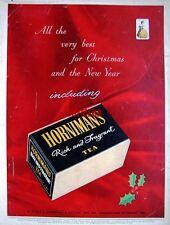 Original 1955 'HORNIMANS' Rich & Fragrant Tea Advert - Vintage Print AD