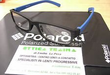 Occhiali x Lettura Reading Glasses Polaroid R974 D +2.50 Nero Blu  Black Blue