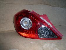 GENUINE VAUXHALL CORSA D 3 DOOR 2006 ONWARD N/S PASSENGER REAR LIGHT 93189099
