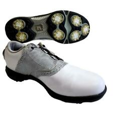 FootJoy Boa Golf Shoes Women's 7 M DryJoys White Black Print Style No. 99018