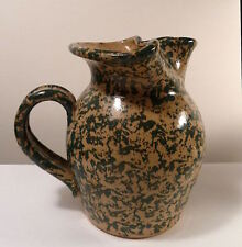 Pottery JUG Three Rivers Coshocton O 1995 Signed AMY