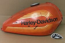 Vintage OEM Harley Davidson Aermacchi SS 250 AMF 1976 Gas Tank Orange