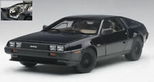 Delorean Dmc-12 1981 Metallic Black 1 18 Model 79917 Autoart