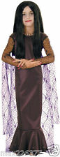 NEW Girl Movie Halloween Costume Morticia Dress Addams Family Large 12-14 child