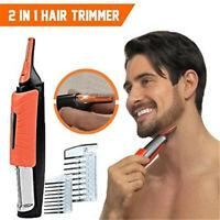 Multi-function 2 in 1 Hair Trimmer MicroTrim-Portable Micro Razor Care 2020