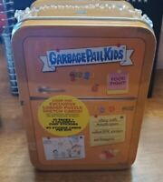 2021 Topps Garbage Pail Kids FOOD FIGHT Refrigerator Tin Sealed Yellow-EXCLUSIVE