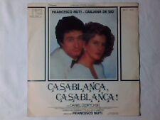 """GIANNI ODDI Casablanca, Casablanca! 7"""" COLONNA SONORA FRANCESCO NUTI GIOVANNI"""