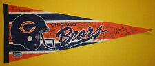 1988 Chicago Bears 30x12 Pennant Auto 20+ Signatures Ron Rivera