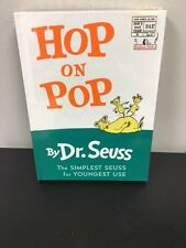 By Dr. Seuss Books Set Of Three Kids/ Babies HopOnPop, AFishOutOFWater
