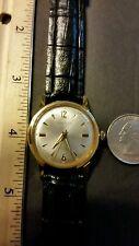 Vintage Men's VANTAGE Watch By Hamilton 17J Gold Tone serviced