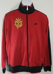 Nike Sportswear Team Manny Pacquiao PacMan Boxing Mens Red Track Jacket Large L
