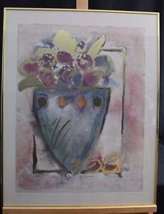 Jardinere 1 By Joyce Combs Framed Signed