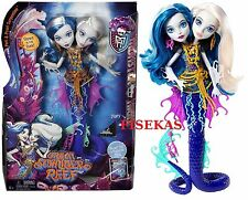 Monster High Great Scarrier Reef Peri & Pearl Serpentine Doll 2015 DHB47 NEW