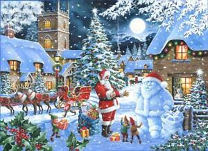 Seeing Double House of Puzzles HOP MC494 500 Pcs Christmas Jigsaw Puzzle