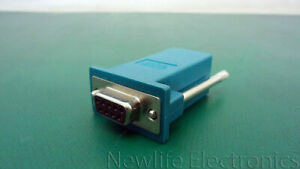 HP 393986-001 RJ-45 to DB9 Adapter