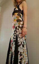 Authentic Missoni Orange Label multicolour crochet flower dress UK10-12 ORP700
