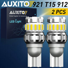 AUXITO T15 LED Reverse Backup Light Bulbs 921 912 for GMC Ford Chevy Error Free