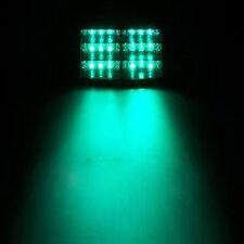 18LED Firefighter Vehicle Emergency Dash Warning Light Strobe Flash Green 12V