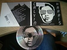 Calvin Harris I Created Disco 14 track limited edition glow in the dark case vgc