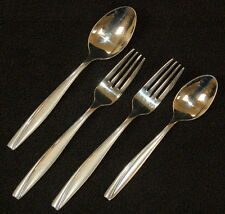 Stainless by Oneida ~ Camlynn ~ 2 Forks + 2 Spoons ~ Vgc