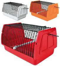 Caja de transporte para pequeñas aves y animales budgies ratas Hamsters Jerbos, Etc