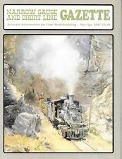 Narrow Gauge Gazette Mar.87 D&RGW V&T RGS HOn3 Weathering Reefer Camp Car C&S