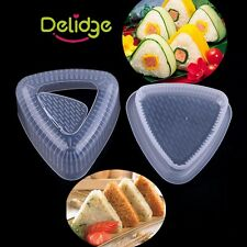 Triangle Sushi Mold Big Onigiri Rice Ball Mold Press Maker Japan Kitchen Tool