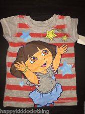 Nick Dora explorer top shirt new size 12 months 1st birthday 4th july