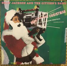 """Have A Happy Christmas Billy Jackson And The Citizen's Band 12"""" White Label NM"""