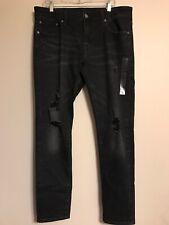 Las Mejores Ofertas En Jeans Ajustados American Eagle Outfitters Negro Para Hombres Ebay