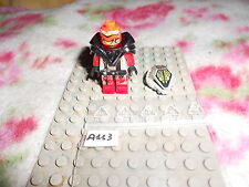 LEGO  VINTAGE  MINIFIG  OMINO UFO Alien Red  6975  6979  6915  2847