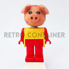 LEGO Minifigures - 1x fab11e - Pig - Fabuland Omino Minifig Set 3667 3695