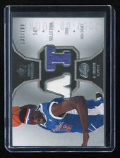 2007-08 SP Rookie Threads Jersey #RT-AT Al Thornton RC #'d 131/199
