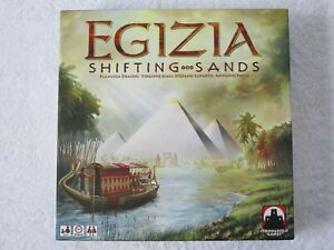 EGIZIA SHIFTING SANDS STRATEGY BOARD GAME. MINT CONDITION.