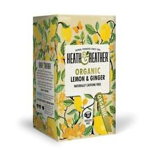 💚 Heath & Heather Organic Lemon & Ginger Infusion 20 bags