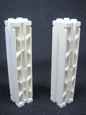 LEGO 30646a @@ Support 2 x 2 x 8 Grooves & Top Peg Lattice 2 Sides (x2) 4611 462
