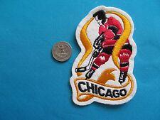 VINTAGE 70-71 CHICAGO BLACKHAWKS NATIONAL HOCKEY LEAGUE PATCH CREST EMBLEM  NHL