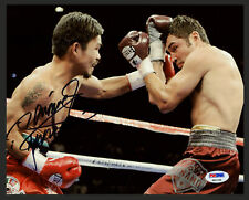 """MANNY PACQUIAO AUTHENTIC AUTOGRAPHED SIGNED 8X10 PHOTO """"PACMAN"""" PSA/DNA 153711"""
