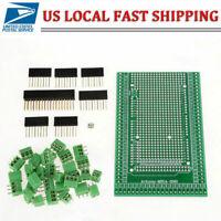 1 Set MEGA 2560 R31 Prototype Screw Terminal Block Shield Board Kit for Arduino