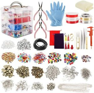 Wire Jewelry Making Starter Kit Craft Tool for Bracelet Necklace Earrings Making