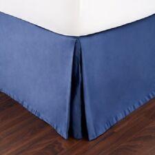 NEW Hudson Park Collection Gramercy KING Bedskirt Cobalt Blue MSRP $170 Y1398