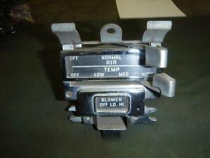 1957 Pontiac Heater Control Used OEM
